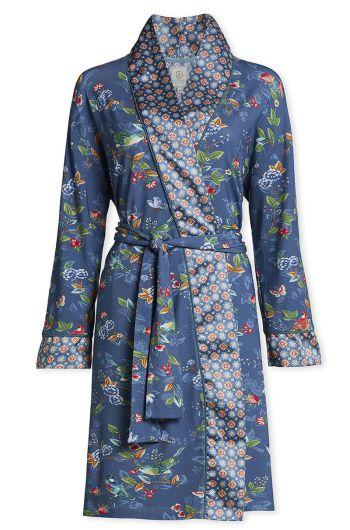 Kimono Birdy Blau