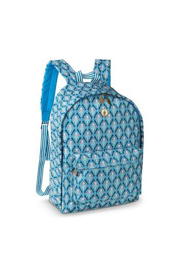 Backpack Indian Festival Blue