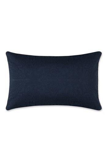 Cushion rectangle Quilty Night Dark blue