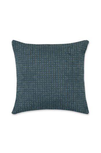 Cushion square Quilty Night Dark blue