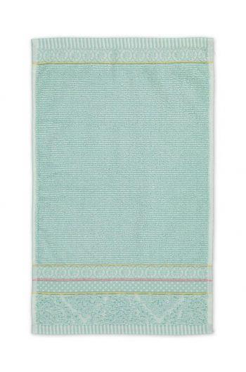 Guest towel Soft Zellige Blue 30x50 cm