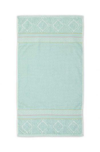 Badetuch Soft Zellige Blau 55x100 cm