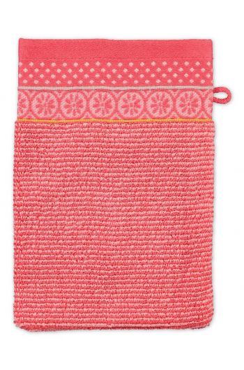 Wash cloth Soft Zellige Coral 16x22 cm