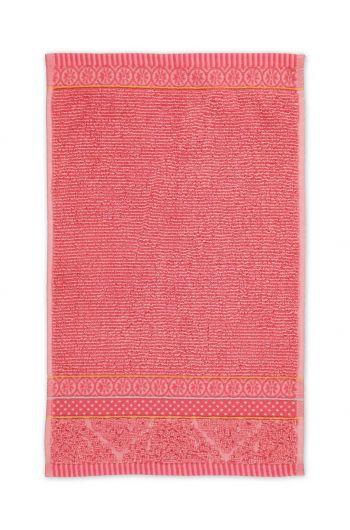 Guest towel Soft Zellige Coral 30x50 cm