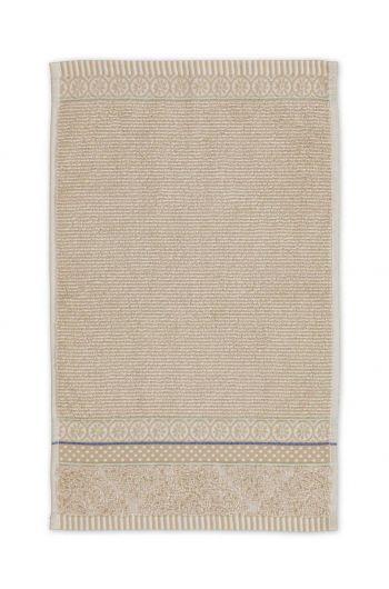 Guest towel Soft Zellige Khaki 30x50 cm