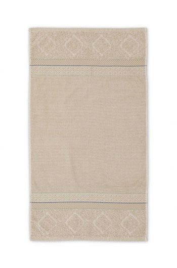 Badetuch Soft Zellige Khaki 55x100 cm