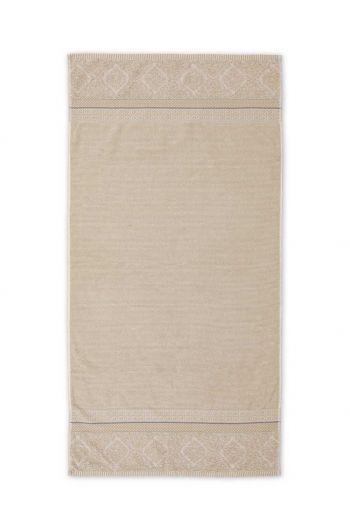 XL Bath towel Soft Zellige Khaki 70x140 cm