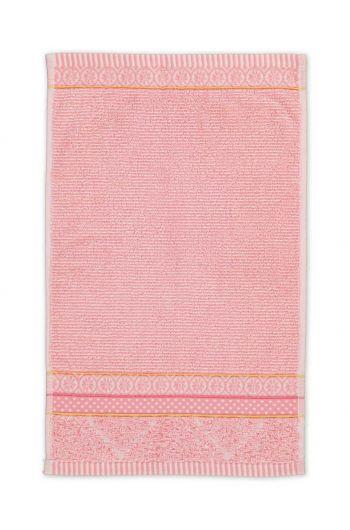 Gästehandtuch Soft Zellige Rosa 30x50 cm