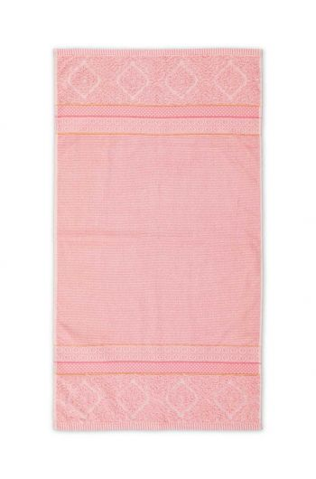 Badetuch Soft Zellige Rosa 55x100 cm