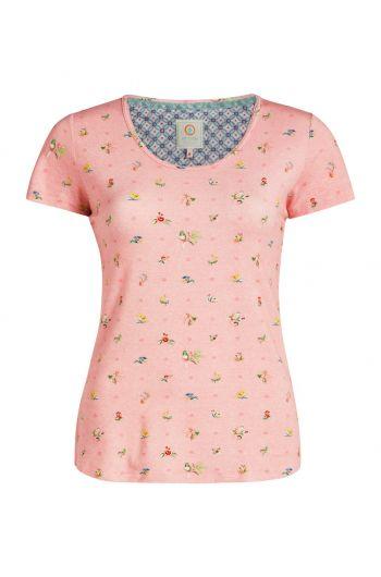 Top short sleeve Moss Pink