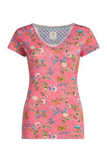 Top short sleeve La Majorelle Pink