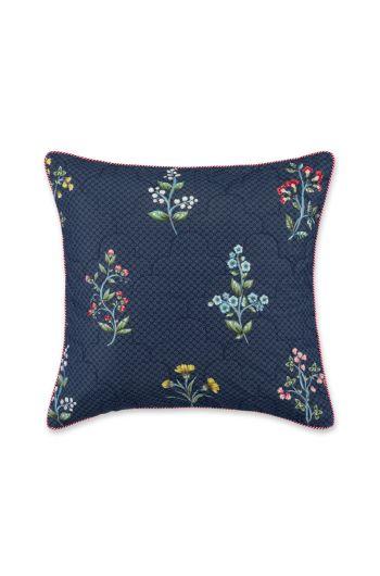 Cushion square Quilted Wonderland Dark blue
