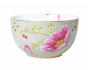 Floral Chinese Garden bowl Khaki