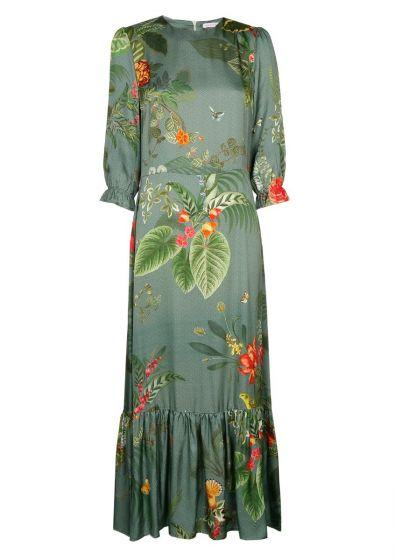 Bella Dress Birdflower