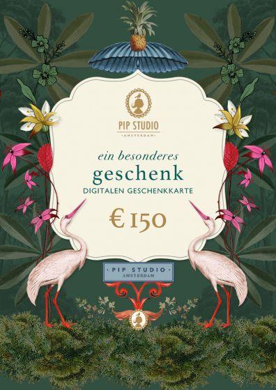 Digitalen Geschenkkarte €150