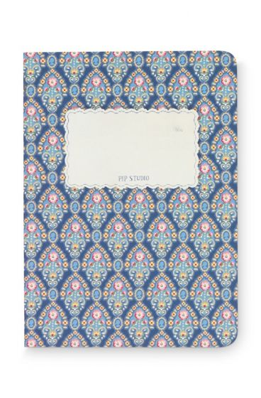 Notebook Small Mumbai Heart blue