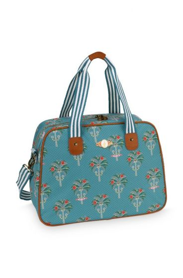 Bowlingtas Jungle Animals blauw