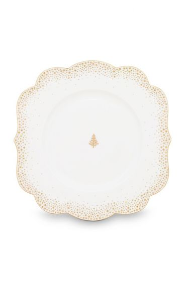 Royal Christmas breakfast plate - 23.5 cm