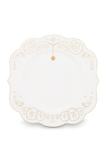 Royal Christmas dinner plate - 28 cm