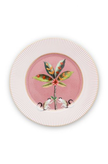 La Majorelle Pastry Plate Pink 17 cm