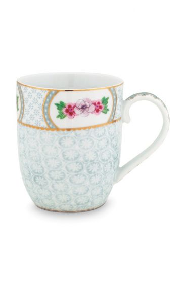 Blushing Birds Mug small white