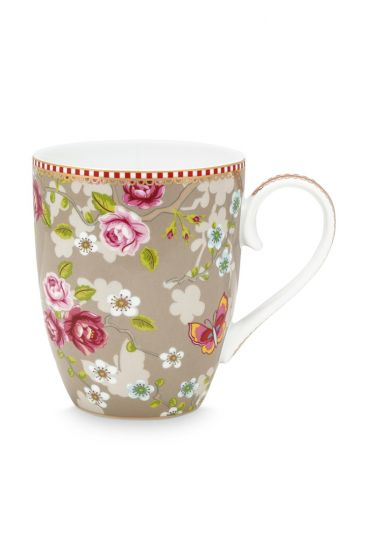Early Bird Tasse Gross Chinese Rose Khaki
