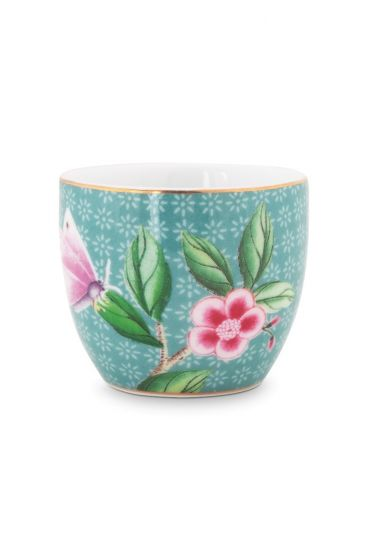Blushing birds Egg Cup blue