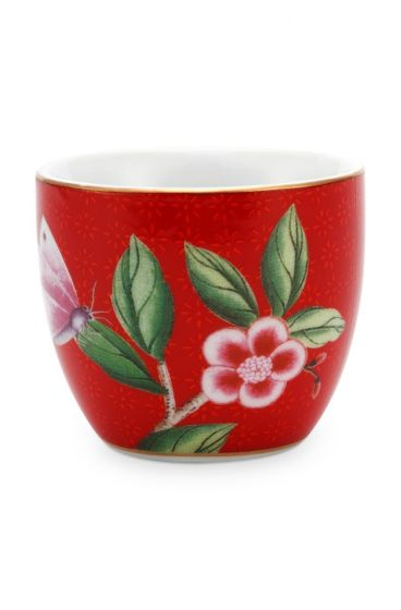 Blushing Birds Egg Cup Red