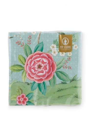 Blushing Birds Paper Napkins