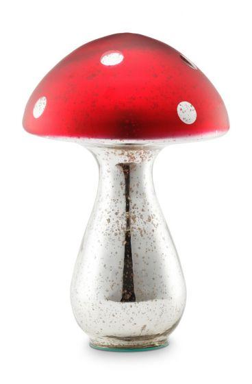 Blushing Birds Mushroom Glass 40 cm