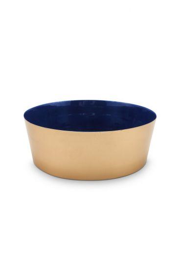 Royal Metal Bowl Gold 19.5 cm