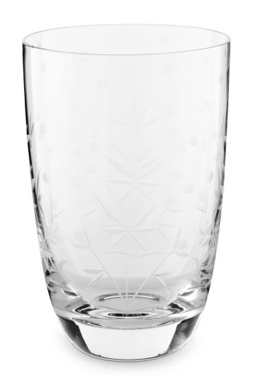 Basics Longdrink Glass Etching