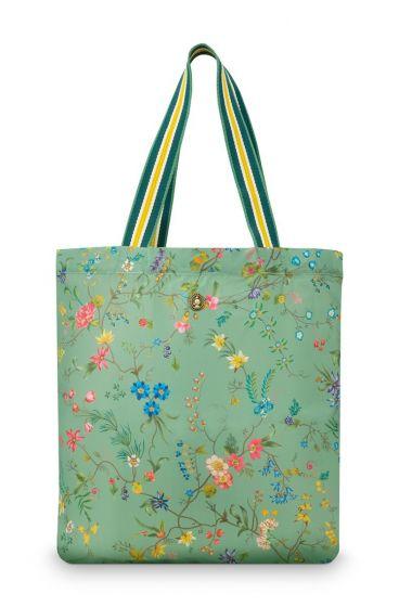 foldable-bag-petites-fleurs-groen-48x15x35-cm-polyester-1/60-pip-studio-51.273.235