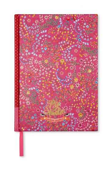 Notitieboek A4 Jungle Animals gelinieerd roze