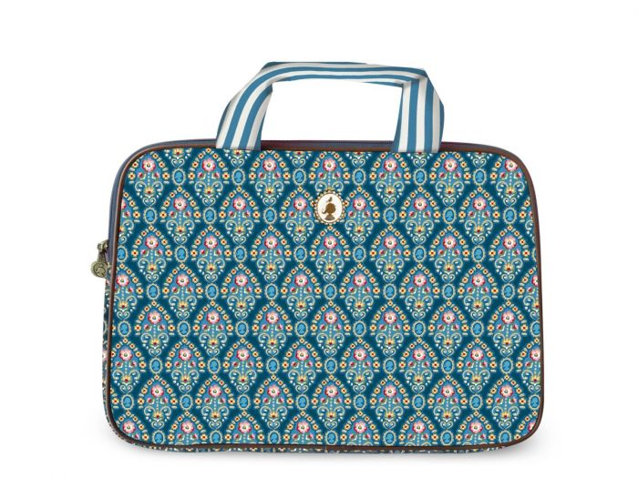 Laptoptasche Indian Festival blau (15 inch)