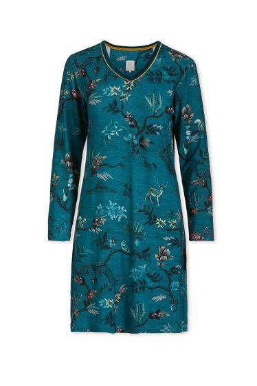 Nightdress Woodland Nights Blue