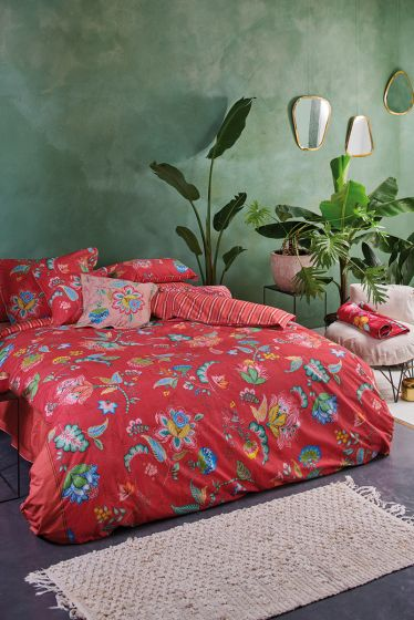 Duvet cover Jambo Flower Red