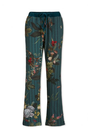Trousers Long Fall in Leaf Green