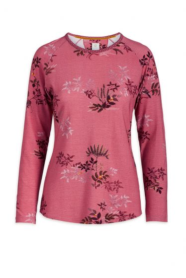 Top Long Sleeve Woodsy Tales Pink
