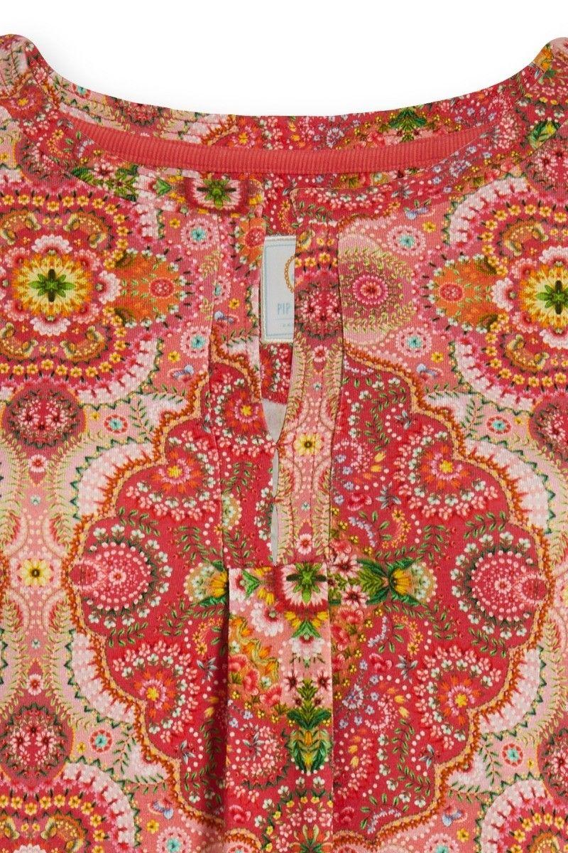 pink Djoy Moon Delight Nachthemd PIP Studio kurzarm