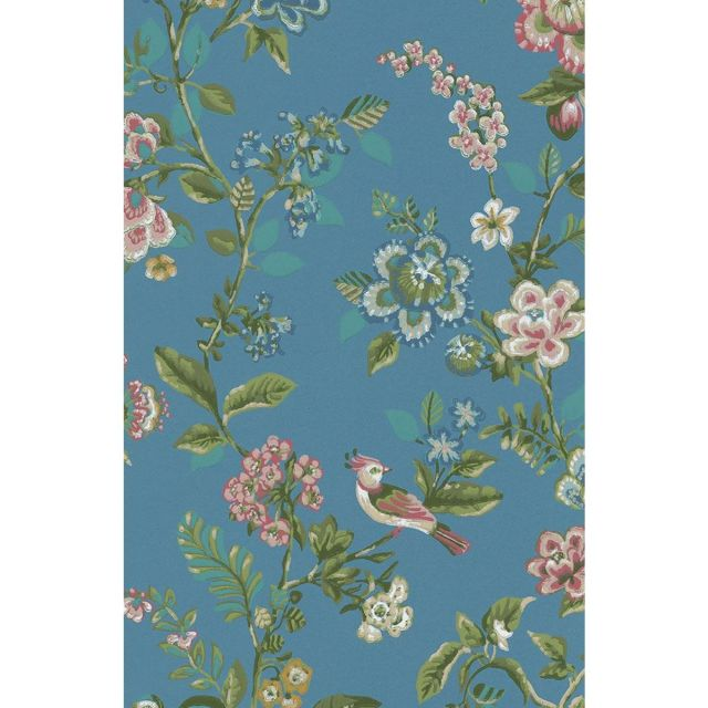 Botanical Print Wallpaper Sea Blue Pip Studio The Official