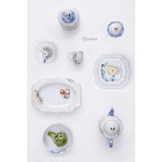 The Royal White Porcelain Collection