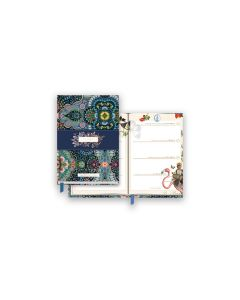 Year Diary A6 Moon Delight Blue