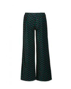 Trousers Long Lilly Lotus Green Velvet