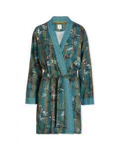 Kimono Woodland Nights Stripe Blau