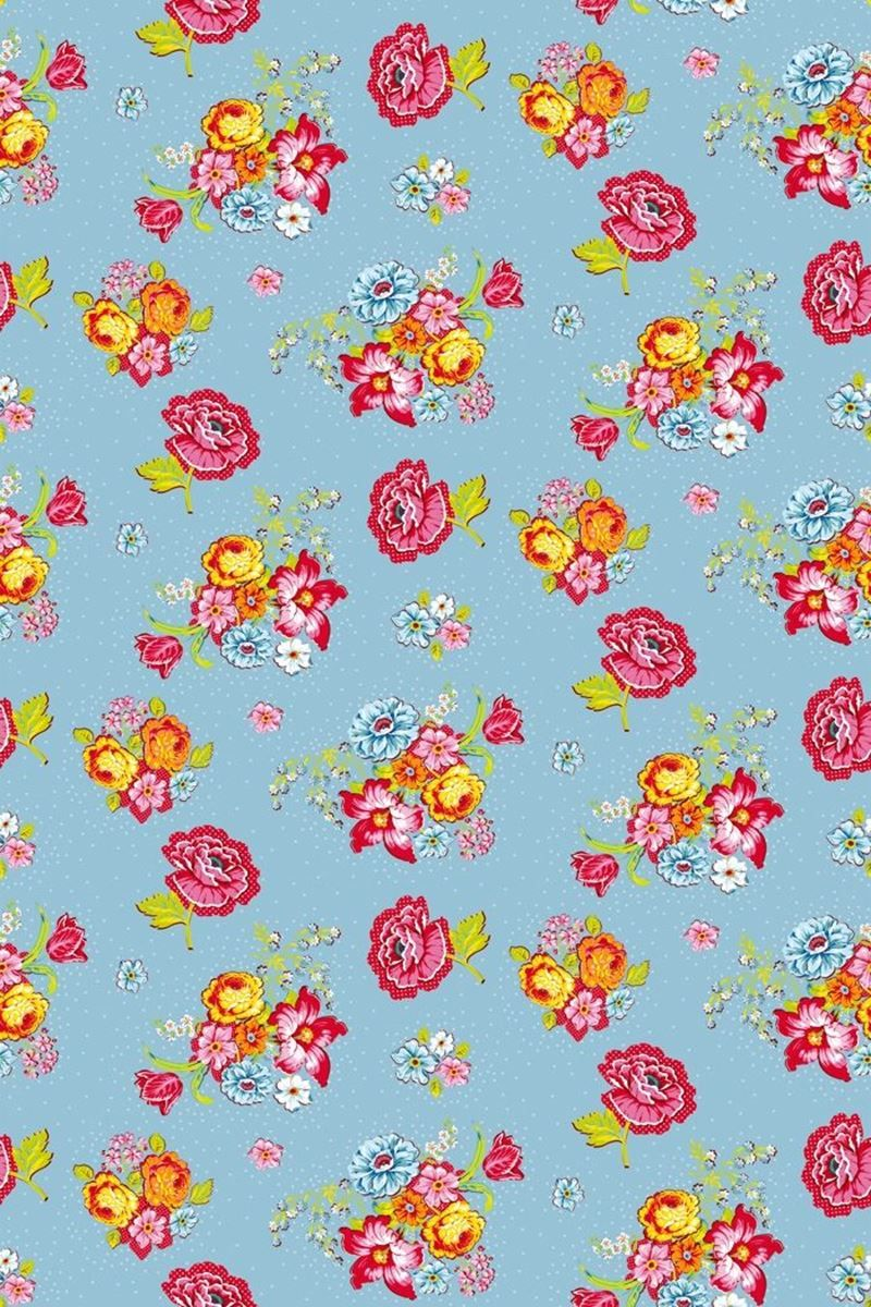 Bunch Of Flowers Wallpaper Blue Pip Studio The Official Website