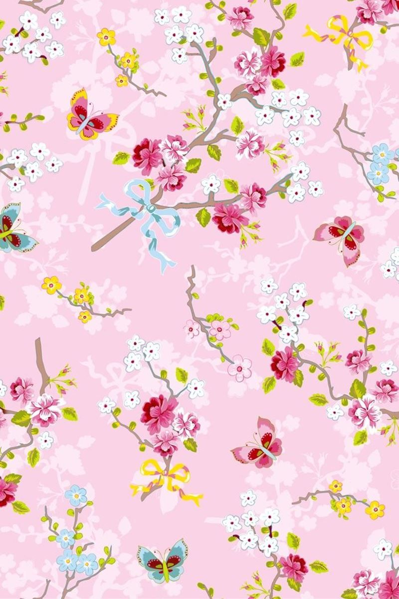 Chinese Rose Pink Wallpaper Pink Pip Studio The Official Website