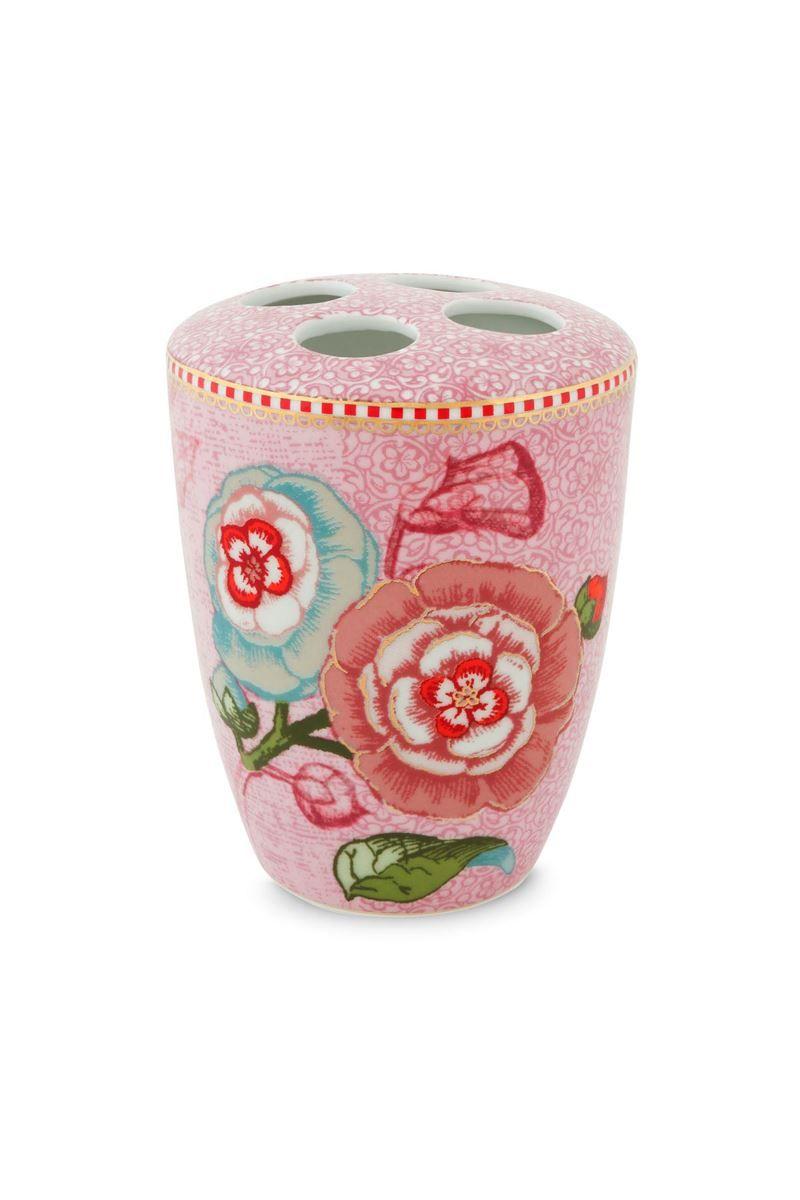 Badezimmeraccessoires Set Spring To Life Rosa Pip Studio The