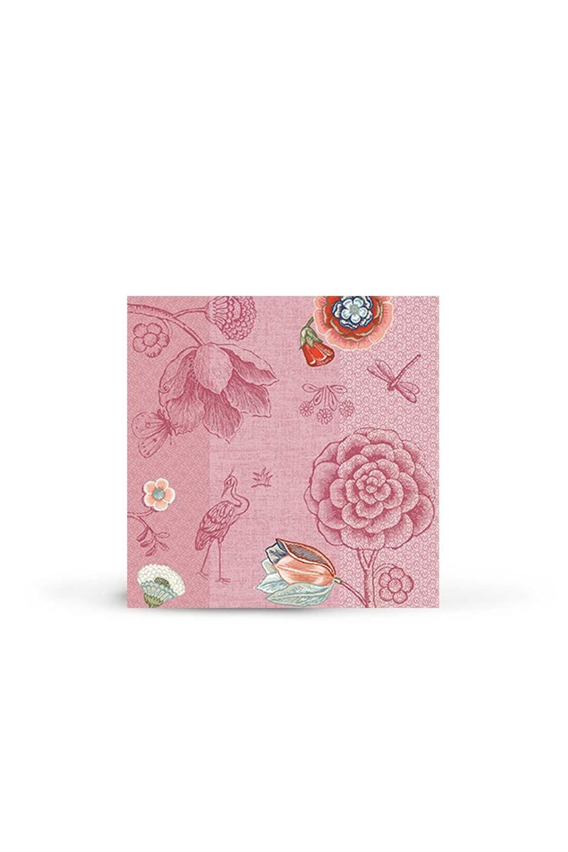 papier cache Serviette en papier Spring to Life Rose | Pip Studio the Official website