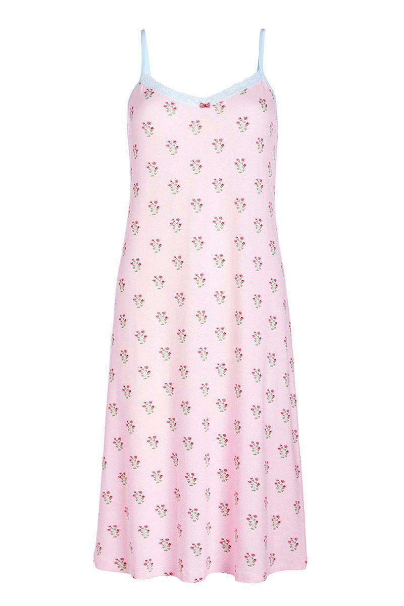 Sleeveless nightdress Upsy Daisy pink  09616f34c0
